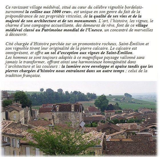 LE VILLAGE DE ST. EMILION
