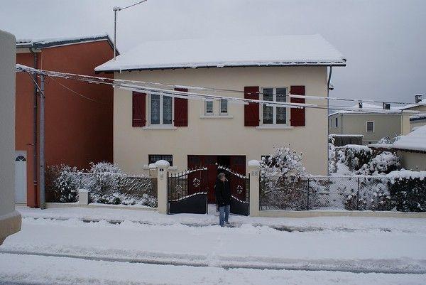 neige sur st girons et sur ma maison et ma rue 4